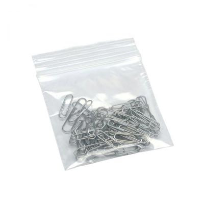 "Grip Seal Plastic Bags Plain, 100pcs - 2.25x3"" (57x76mm)"