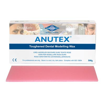 Anutex modelling wax - 500g red
