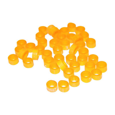 IMS Color Code Instrument Rings - small 100pcs yellow