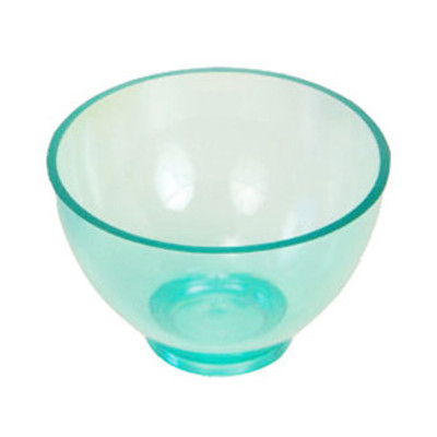 Mixing bowl - Large (130 x H80mm) transparent green