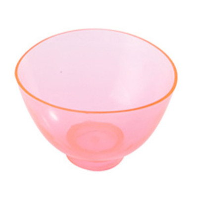 Mixing bowl - Large (130 x H80mm) transparent red