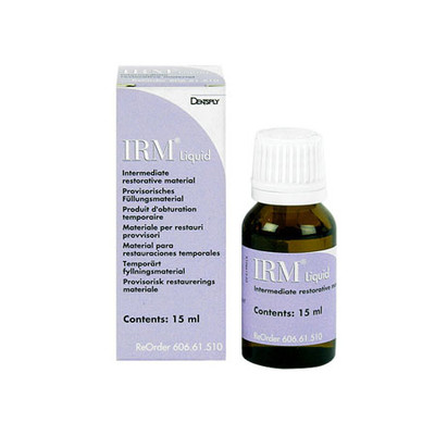 IRM - Zinc Oxide Eugenol Cement, 15ml liquid