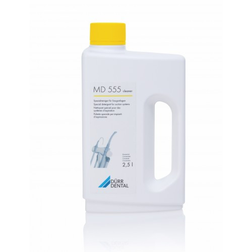 MD 555 - Suction System Cleaning Solution foam free, 2.5L concentrate