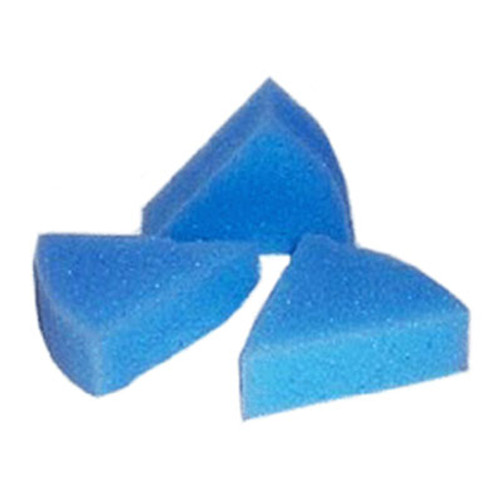 Ring Endo Holder (clean stand) sponges - 50pcs triangle blue