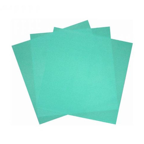 Latex rubber dam medium 150 x 150mm (36 pieces) Mint, green