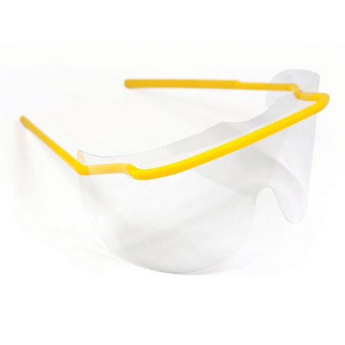 Eye Shield kit : 1 frame + 25 clear lenses