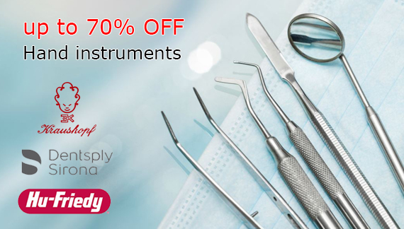 Hand instruments stock clearance