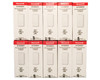 10 Pack Honeywell 5816WMWH Door/Window Sensors