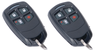 2 Pack of Honeywell 5834-4 Wireless Transmitter Keyfobs