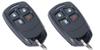 2 Pack of Honeywell 5834-4 Wireless Transmitter Keyfobs