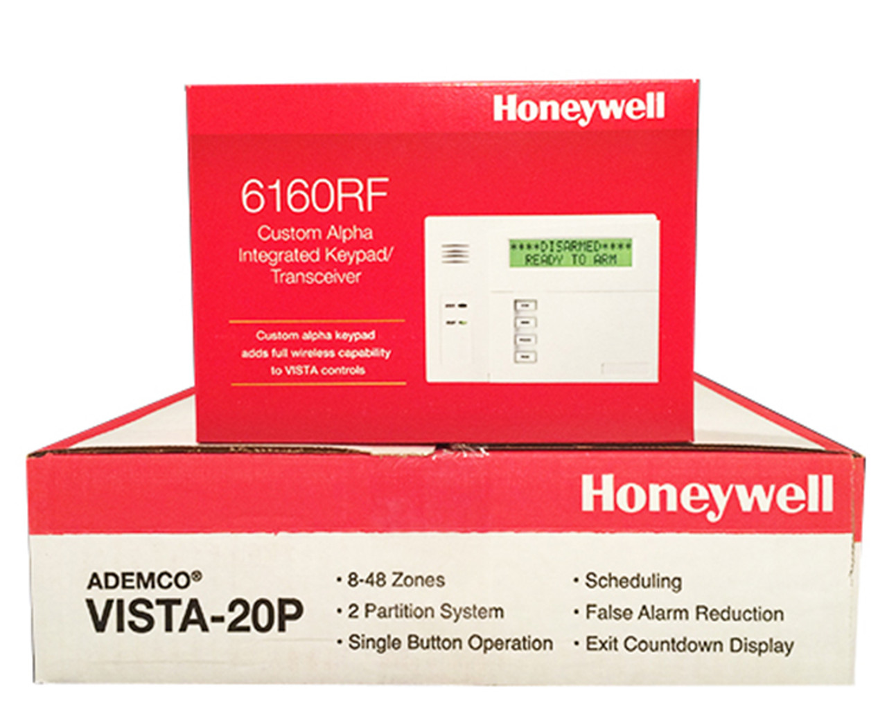 Honeywell Vista 20P Panel & 6160RF Keypad