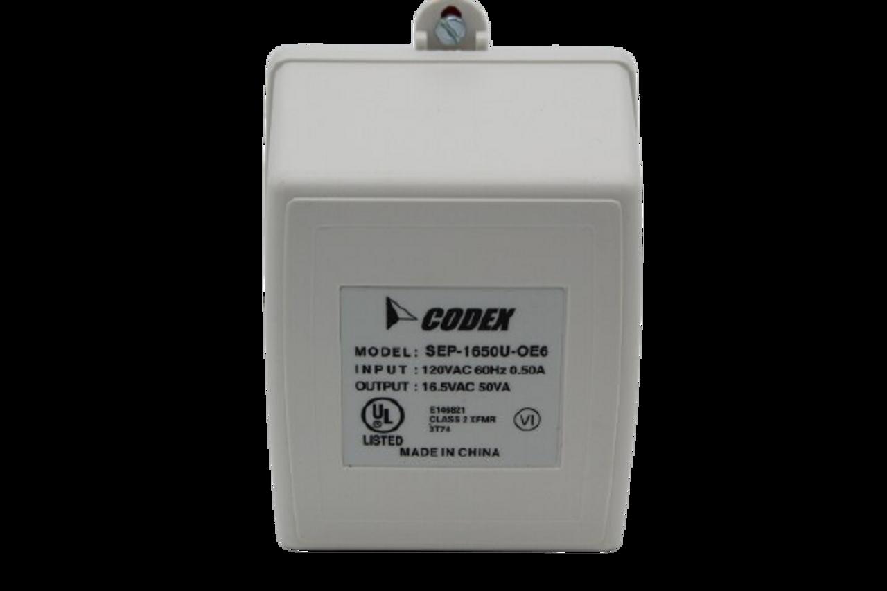 Altronix TP1650 Plug-In Transformer 16.5VAC/50VA 120VAC