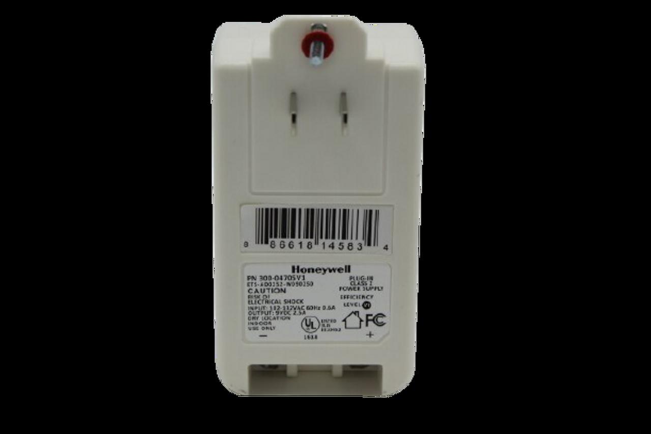Honeywell 30004705V1 9V DC 2.5amp Power Supply for LYNX Touch Series