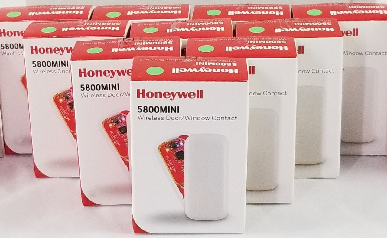 25 Pack Honeywell 5800MINI Wireless Door/Window Sensor w/ Magnet