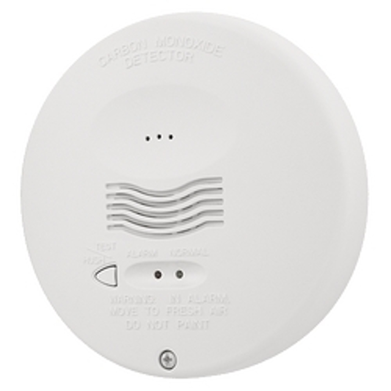 System Sensor Round Carbon Monoxide Gas Detector 4-Wire 12/24V with Real Test