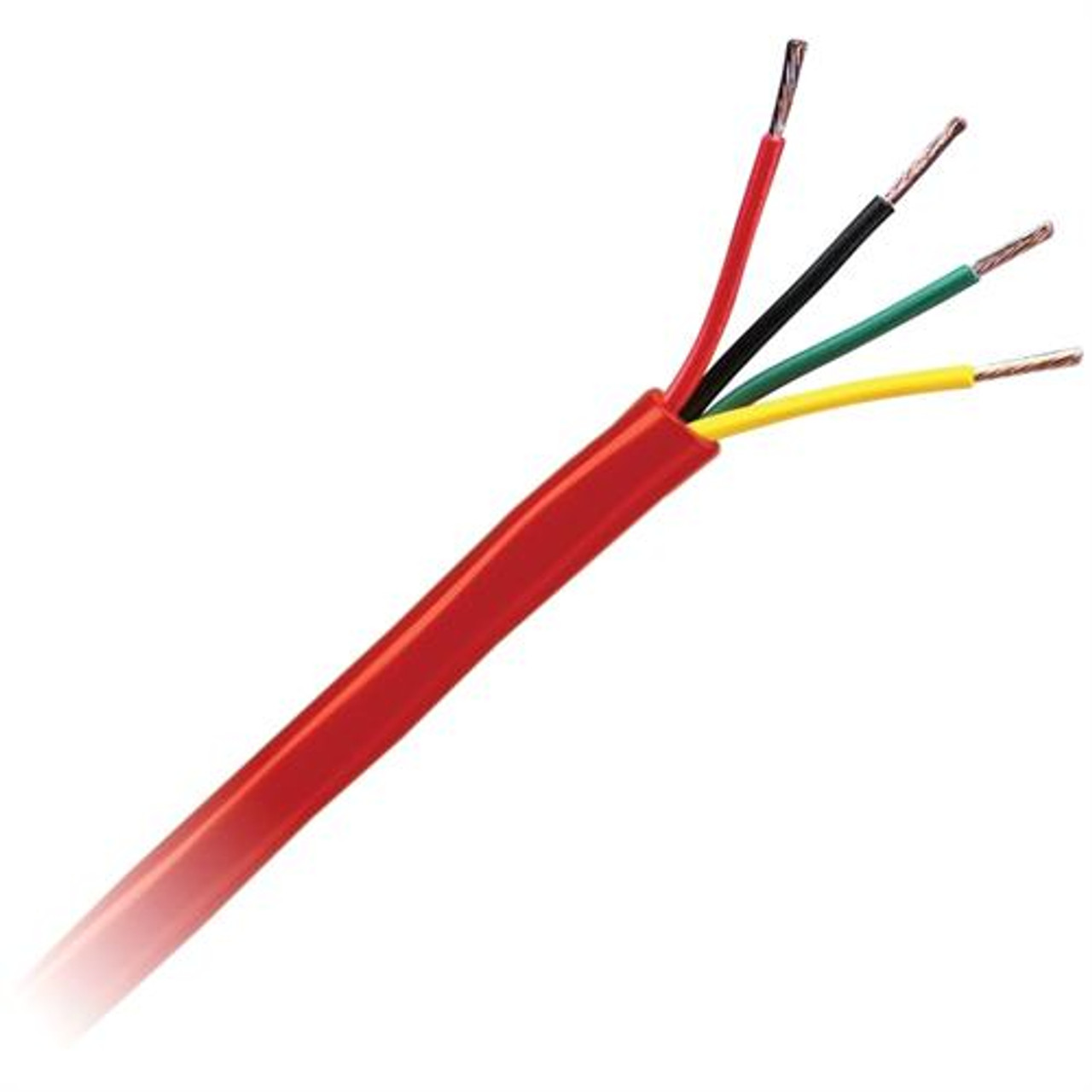 500ft Genesis 22/4 Fire Wire Red (For Smokes, Keypads, Expanders)