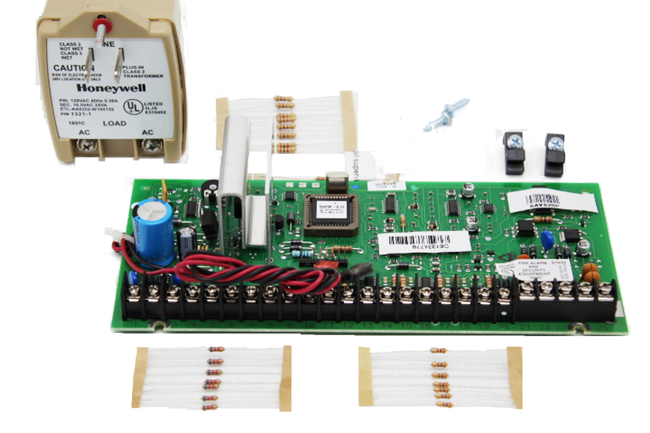 Honeywell Vista 20P Panel Version 10.23 Board and Accessories only, No Can or Lock