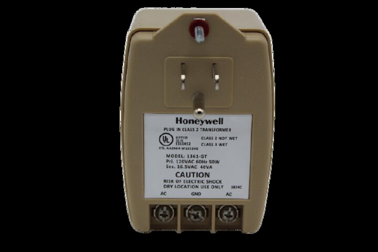 Honeywell 1361-GT Transformer, 16.5Vac, 40Va, 2.4A