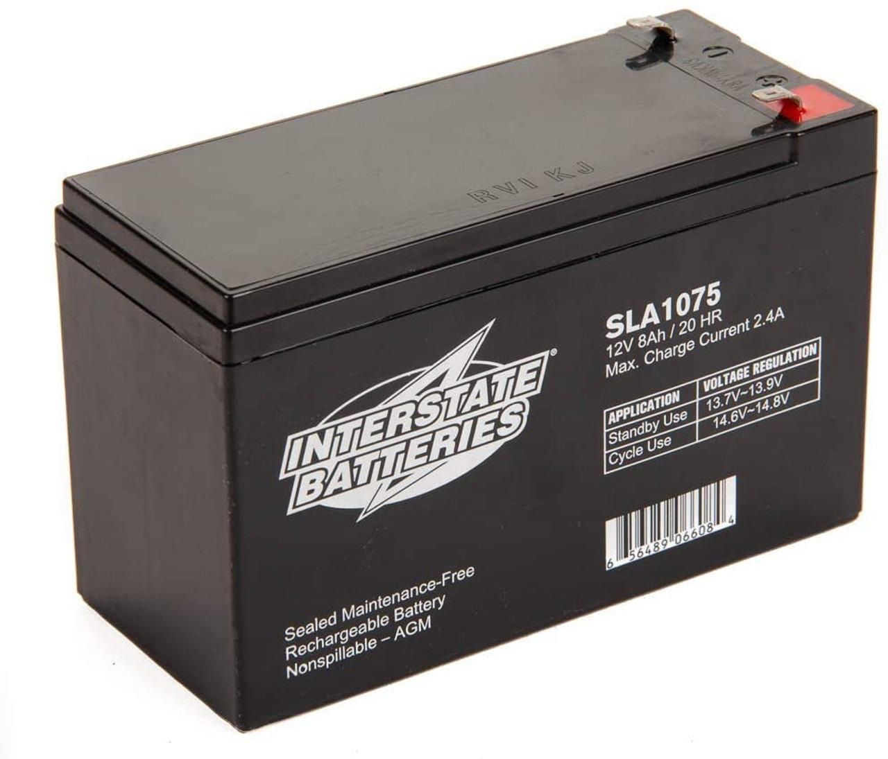 Interstate Batteries SP12-7 12V 8Ah Battery
