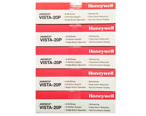 5 Honeywell Vista 20P Panels. Version 10.23