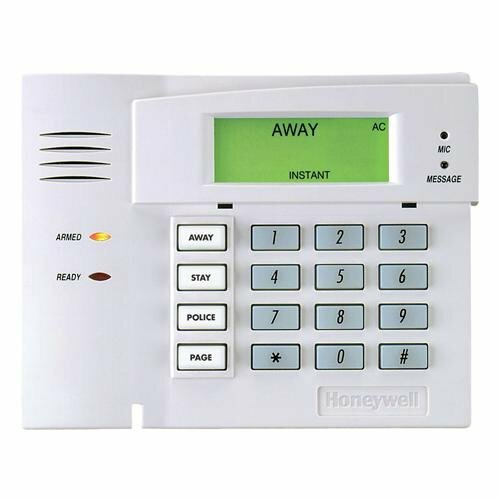 Clavier d'alarme anglais fixe sans fil Honeywell 5828V