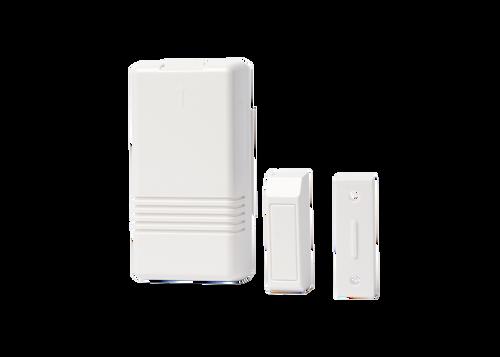 Une (1) boîte de cent vingt-huit (128) émetteurs de porte / fenêtre sans fil Honeywell 5816WMWH avec aimants (128 5816 Deal)