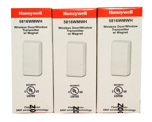 Honeywell Vista 20P Kit with 1 6160RF, 3 5816WMWH, 1 5834-4