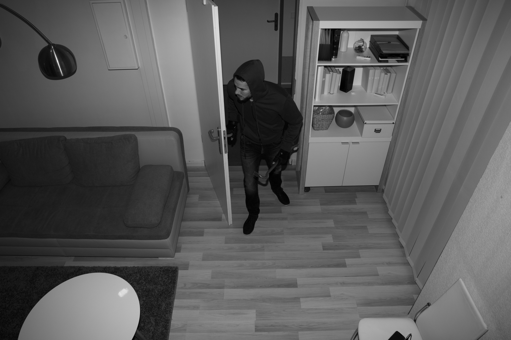 What to Do When You Catch an Intruder in Your Home