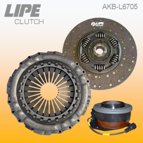 430mm Clutch Kit for Renault Kerax, Magnum and Premium 2 and Volvo FH/FM/FMX trucks. Contact us to check your application details.