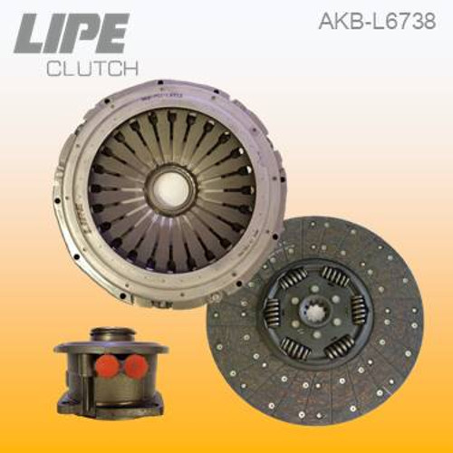 362mm Clutch Kit for MAN L/M2000 and TGM trucks. Contact us to check your application details.
