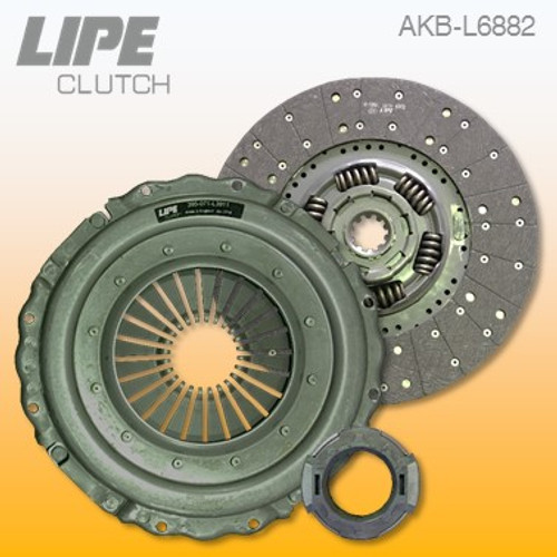 395mm Clutch Kit for Renault C/D-Series and Volvo FL III trucks. Contact us to check your application details.