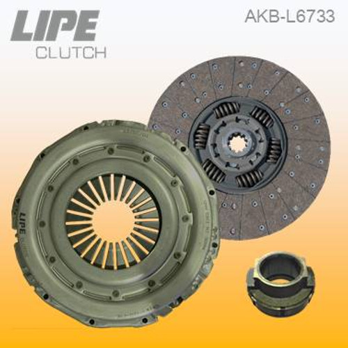 362mm Clutch Kit for MAN TGL trucks. Contact us to check your application details.