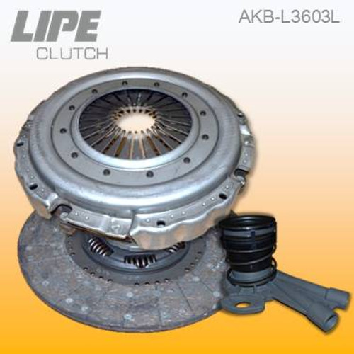 395mm Clutch Kit for MAN L2000 and M2000 trucks. Contact us to check your application details.