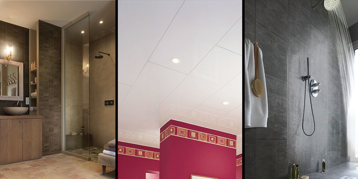 Shower & Ceiling PVC Cladding