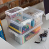 SmartStore Home 5 Storage Box with Lid 3.6L - Clear