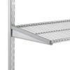 elfa 40 Wire Shelf 607mm Width - Platinum