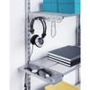 elfa 50 Wire Shelf 902mm Width - Platinum