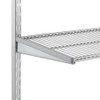 elfa 50 Wire Shelf 1212mm Width - Platinum