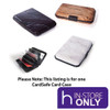 CardSafe Aluminium Travel Hard Card Case - Assorted