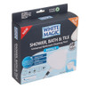 White Magic Universal Shower, Bath & Tile Cleaning Tool Refill - 2 Pack