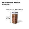OXO POP 2.0 Container Small Square Medium 1.6L