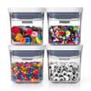 OXO POP 2.0 Container Mini Square Mini 200ml - Set of 4