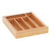 Howards Bamboo Cutlery Organiser Expandable - Small