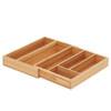 Howards Bamboo Cutlery Organiser Expandable - Medium