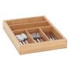 Howards Bamboo Cutlery Organiser Expandable Large