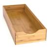 Howards Bamboo Stackable Large Rectangular Drawer Organiser -Narrow