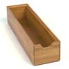 Howards Bamboo Stackable Drawer Organiser - 30.5 x 7.8 x 6.4cm