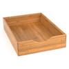Howards Bamboo Stackable Drawer Organiser - 22 x 31 x 6.4cm