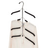 Howards Foam 4 Tier Open Shirt Hanger - Black