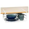 Howards Powder Coated Wire Under Shelf Basket - Large